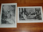 Print-circa-80-years-old-Queen-Victoria-First-Council-200536396077